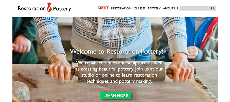 Welcome to Restoration Pottery