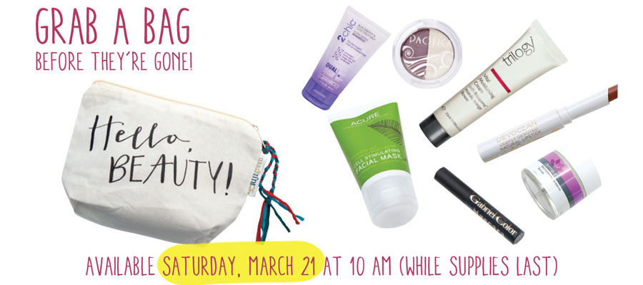 Whole Foods Market Grab a Beauty Bag Email